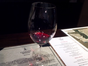 Columbia Winery Tasting