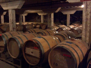 Barrister Winery Barrel Room