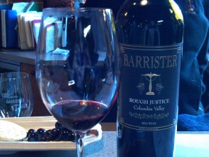 Wine tasting at Barrister
