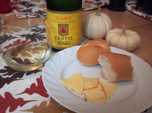 Hugel Wine and Cheese