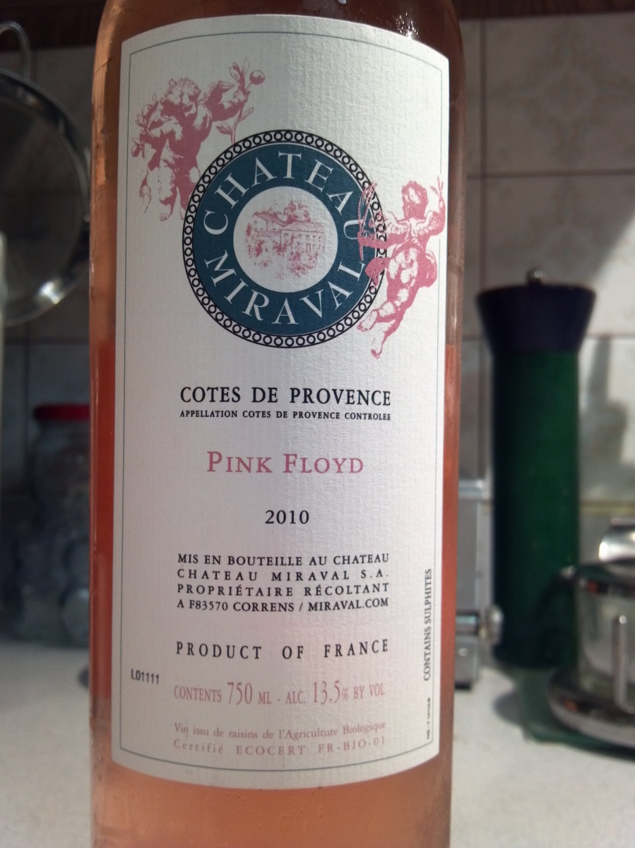 chateau miraval bottle