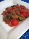 a dish of ratatouille