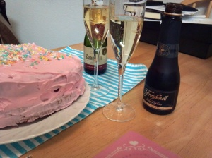 Cava and Cake